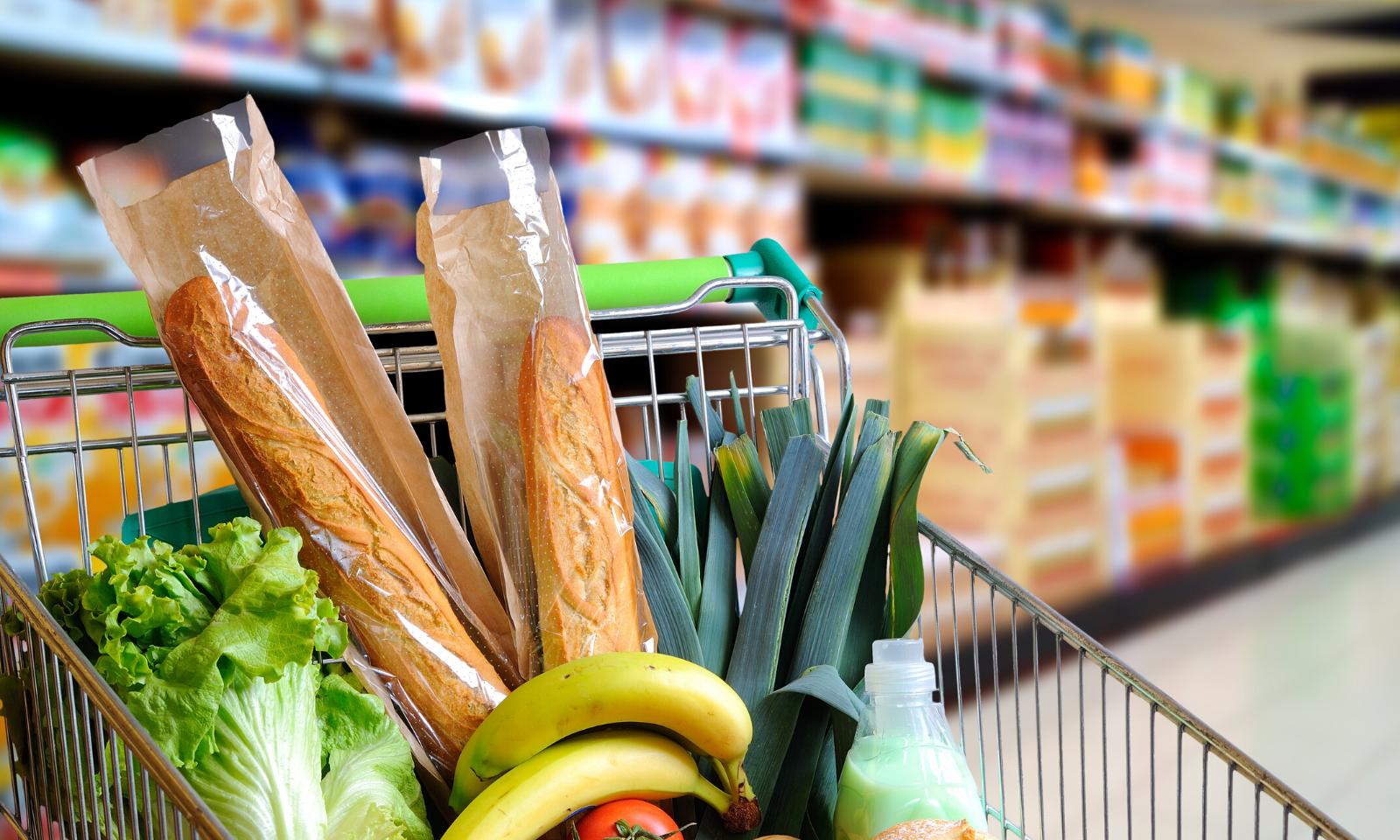 Cabaz de compras para duas semanas - Que alimentos deves escolher?