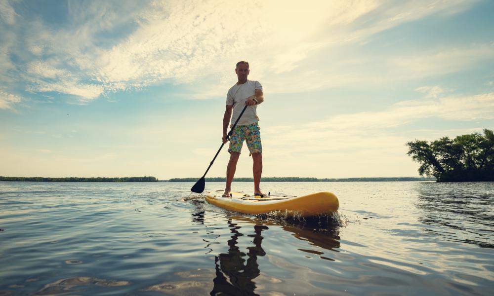 Stand Up Paddle: Uma Moda Que Veio Para Ficar