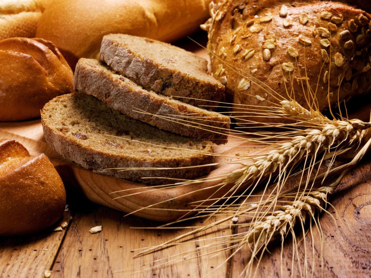 Открытка с хлебом